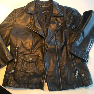 Express Minus the Leather Moto Jacket